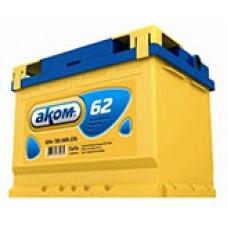 Аккумулятор Аком R12V 62Ah 540A