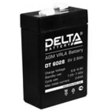Аккумулятор Delta DT UNI6V 2.8Ah