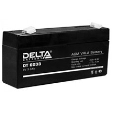 Аккумулятор Delta DT UNI6V 3.3Ah