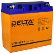 Аккумулятор Delta DTM UNI12V 17Ah