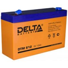 Аккумулятор Delta DTM6V 12Ah