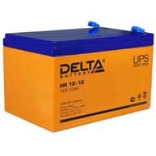 Аккумулятор Delta HR UNI12V 12Ah