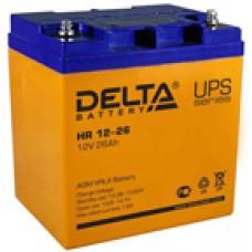Аккумулятор Delta HR UNI12V 26Ah