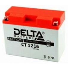 Аккумулятор Delta MOTO CT R12V 16Ah 150A