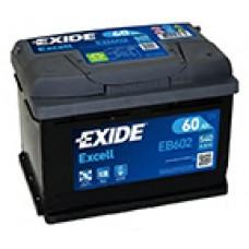 Аккумулятор Exide Excel R12V 60Ah 540A