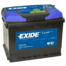 Аккумулятор Exide Excell R12V 62Ah 540A