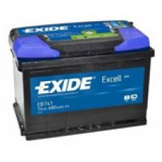 Аккумулятор Exide Excell L12V 74Ah 680A