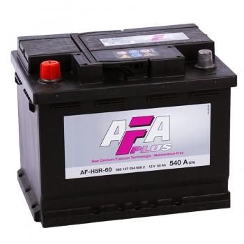 Аккумулятор AFA L12V 60Ah 540A