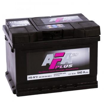 Аккумулятор AFA R12V 60Ah 540A