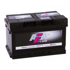 Аккумулятор AFA R12V 72Ah 680A