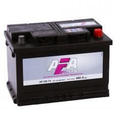 Аккумулятор AFA R12V 74Ah 680A