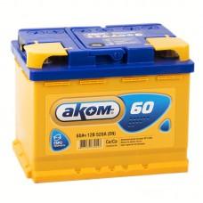 Аккумулятор Аком R12V 60Ah 520A