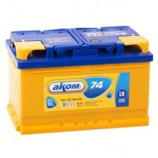 Аккумулятор Аком R12V 74Ah 700A