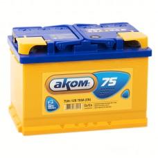 Аккумулятор Аком R12V 75Ah 700A