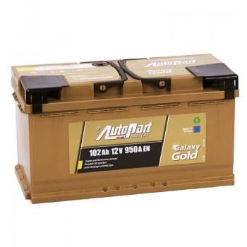 Аккумулятор AutoPart Galaxy Gold R12V 102Ah 950A