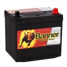 Аккумулятор BANNER Power Bull ASIA R12V 60Ah 510A