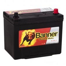 Аккумулятор BANNER Power Bull ASIA R12V 70Ah 600A