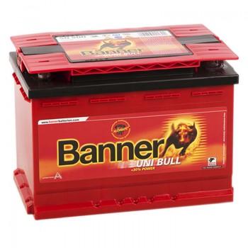 Аккумулятор BANNER uni Bull UNI12V 69Ah 520A