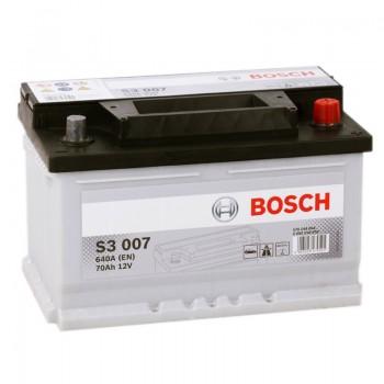 Аккумулятор Bosch S3 007 R12V 70Ah 640A