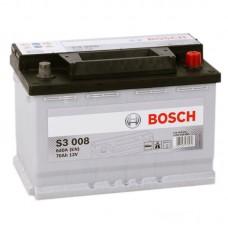 Аккумулятор Bosch S3 008 R12V 70Ah 640A