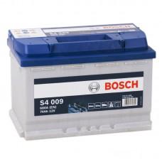 Аккумулятор Bosch S4 009 L12V 74Ah 680A