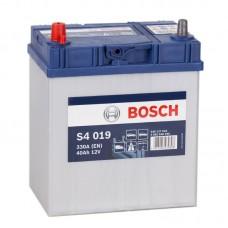 Аккумулятор Bosch S4 019 L12V 40Ah 330A