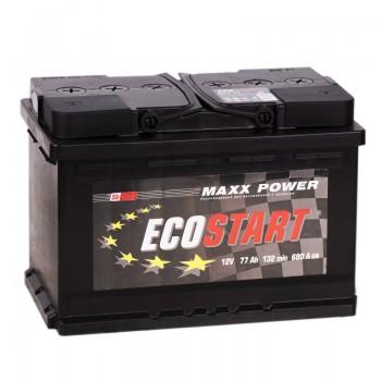 Аккумулятор Ecostart R12V 77Ah 680A