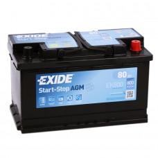 Аккумулятор Exide AGM R12V 80Ah 800A