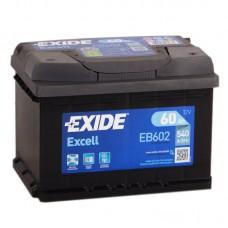 Аккумулятор Exide Excell R12V 60Ah 540A