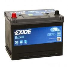 Аккумулятор Exide Excell L12V 70Ah 540A