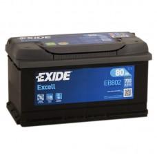 Аккумулятор Exide Excell R12V 80Ah 700A