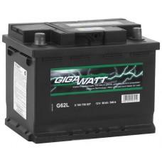 Аккумулятор Gigawatt L12V 60Ah 540A