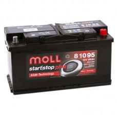 Аккумулятор Moll AGM R12V 95Ah 850A