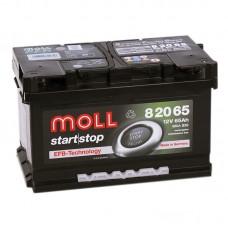 Аккумулятор Moll EFB R12V 65Ah 680A
