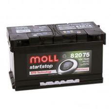 Аккумулятор Moll EFB R12V 75Ah 760A