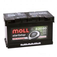 Аккумулятор Moll EFB R12V 80Ah 800A