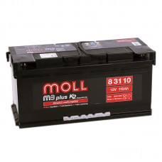 Аккумулятор Moll M3plus R12V 110Ah 900A
