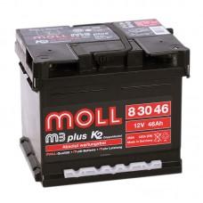 Аккумулятор Moll M3plus R12V 46Ah 420A