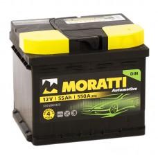 Аккумулятор Moratti R12V 55Ah 550A