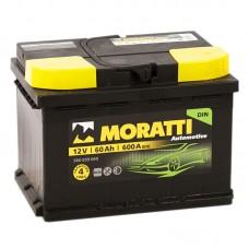 Аккумулятор Moratti R12V 60Ah 600A
