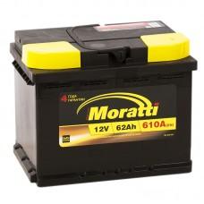 Аккумулятор Moratti R12V 62Ah 610A