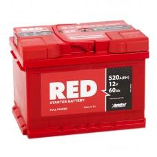 Аккумулятор Red R12V 60Ah 520A