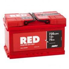 Аккумулятор Red R12V 75Ah 720A