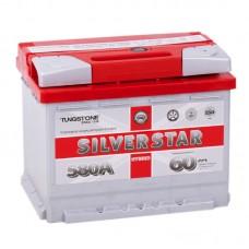 Аккумулятор Silverstar Hybrid R12V 60Ah 580A
