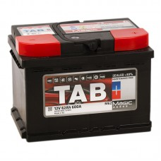 Аккумулятор Tab Magic R12V 62Ah 600A
