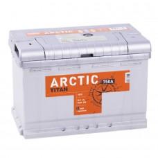 Аккумулятор Titan Arctic L12V 75Ah 750A