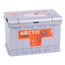 Аккумулятор Titan Arctic R12V 75Ah 750A