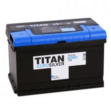 Аккумулятор Titan Euro R12V 74Ah 700A