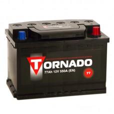 Аккумулятор Tornado R12V 77Ah 550A