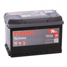 Аккумулятор Tudor Technica R12V 74Ah 680A